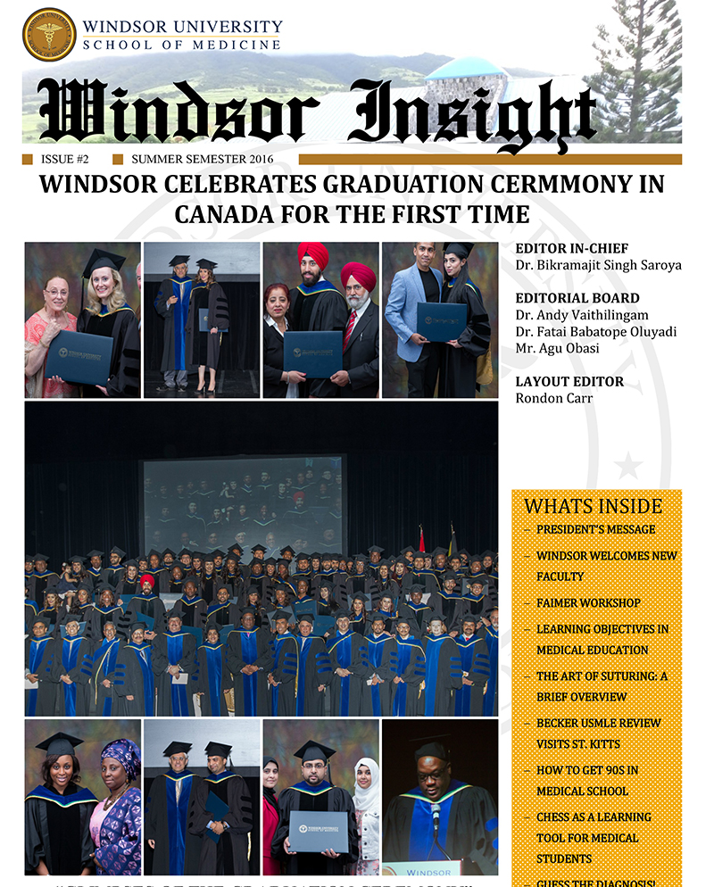 Windsor Insight Summer 2016