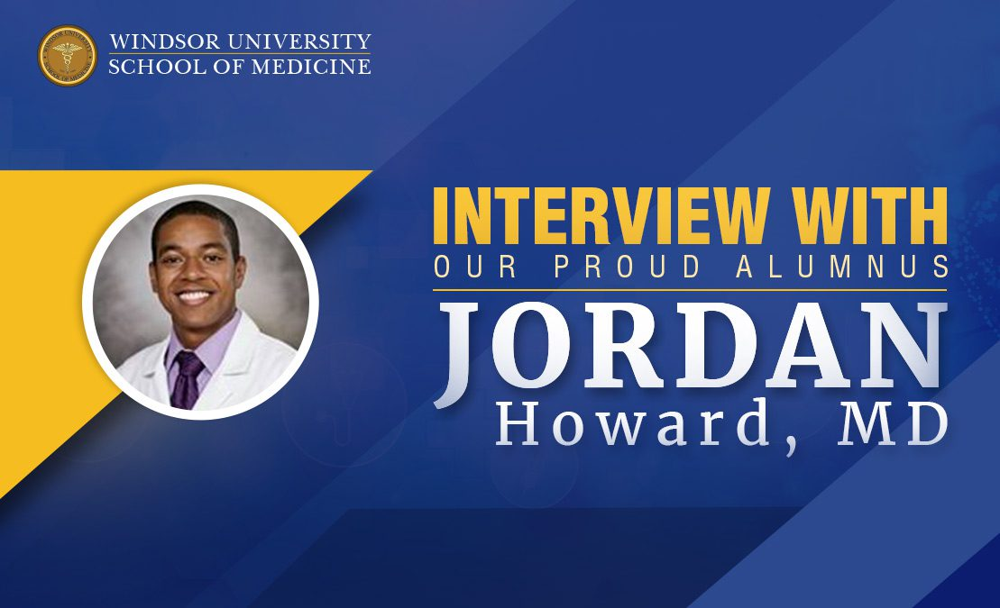 Interview with Our Proud Alumnus: Dr  Jordan Howard